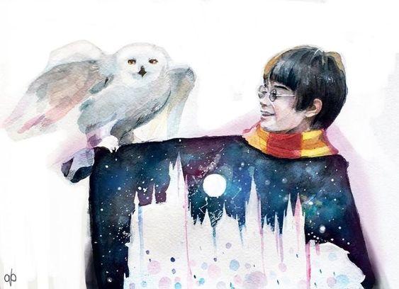نقاشی هری پاتر